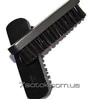 Щетка для обуви и одежды черная