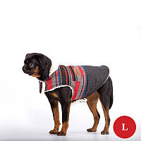 Жилет для собак DIEGO Vest Print 2 красный, размер L, фото 1