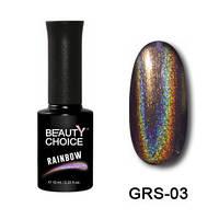 Гель-лак Beauty Choice «Rainbow» GRS-03, 10 мл