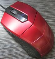 Мышь компьютерная проводная USB M02  (цвета в ассортименте), фото 1