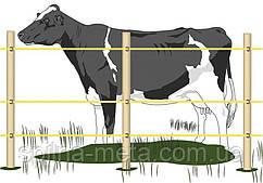 Електропастух Corral NA100 комплект для корів на периметр 1000 м (в одну лінію)