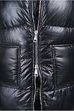 Жилетка длинная женская Freever черная, фото 4