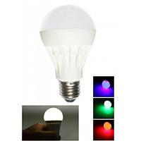 LED лампа ночник AUKES TB030N-7W зеленая