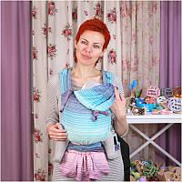 Май-слинг GIRASOL MySol Buckle Candy Clouds