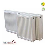 Стальной радиатор AQUATECHnik 500х22х800 нижнее подключение, фото 1
