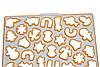 """Набор для выпечки на планшете с выталкивателем""""Новый год""""(код 04343)"""
