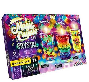 Набор для изготовления свечек с кристаллами MAGIC CANDLE CRYSTAL
