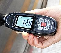 Толщиномер автомобильный Yunombo YNB-220 Fe / NFe / NFe+Zn (измеритель толщины автомобильной краски), фото 1