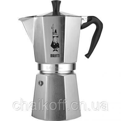 Гейзерная кофеварка Bialetti Moka Espresso на 18 чашек (Италия)