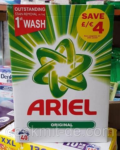 Стиральный порошок Ariel Original 2,6 кг 40 стирок Бельгия