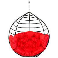 Кресло-кокон Aurora 250 кг Красное