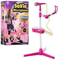 Детский микрофон 66139-31  на подставке