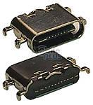 Разъем заряда Type-C 16pin, 1.6mm
