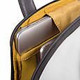 Рюкзак для ноутбука 14 дюймов Piquadro Ermes, черный, фото 3