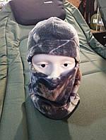 Балаклава зимняя камуфляж Лес (Флисовая), фото 1