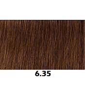 Аммиачная крем-краска для волос Indola Permanent Caring Color, 60 мл 6.35 русые золотистый махагон