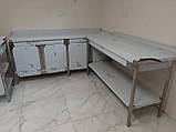 Стол с бортом 1200х600х850, фото 10