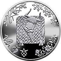 Рік Бика монета 5 гривень, фото 2