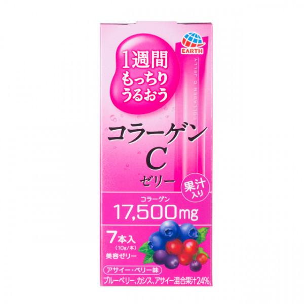 Японский питьевой коллаген Earth Collagen C Jelly 70g (на 7 дней)