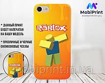 Силиконовый чехол Роблокс (Roblox) для Apple Iphone XR