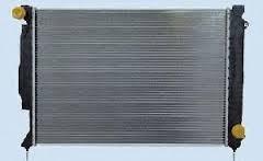 Радиатор охлаждения Audi A6 2005- (2.7-3.0 TDI) 675*445мм плоские соты KEMP