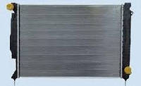Радиатор Audi- A6 2.7-3.0 TDI 05г.->675*445 плоские соты 4F0121251P