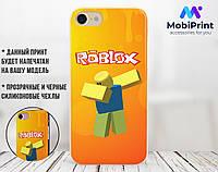 Силиконовый чехол Роблокс (Roblox) для Xiaomi Redmi Note 7