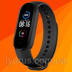 Фитнес браслет Mi Band M5 цветной экран, фитнес трекер, умные часы, шагомер,измерение давления