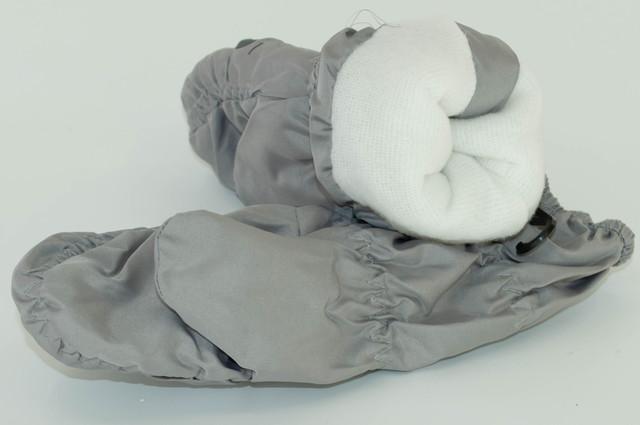 Перчатки детские, лыжные, из плащевки  на флисе