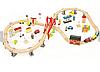 Дитяча дерев'яна залізниця CITY Avko, фото 2