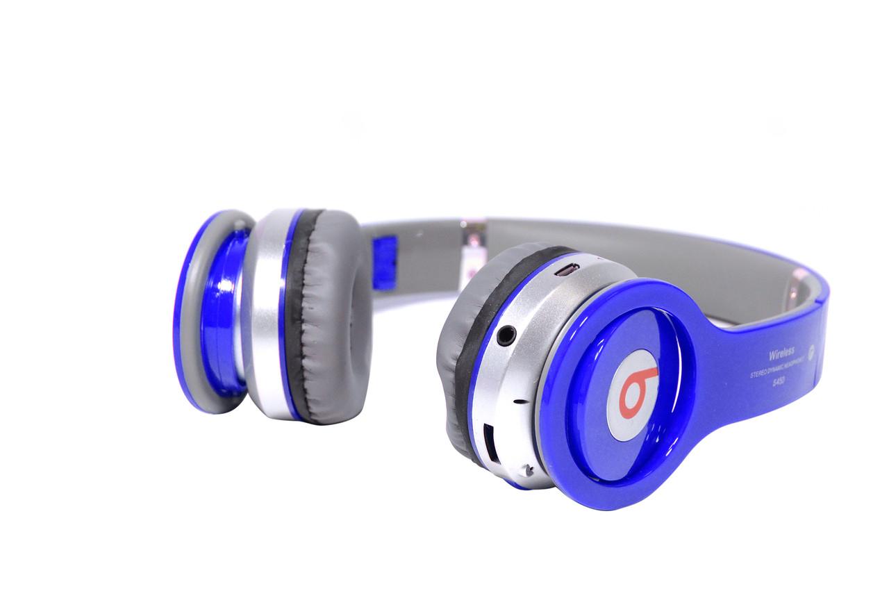 Bluetooth Наушники Beats Solo by dr. Dre S450 беспроводные синие