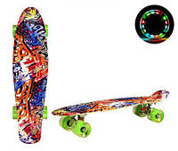 """Пенни борд """"Mix Color"""", игрушки товары для детей,скейт,борды,детские скейтборды и пениборды"""