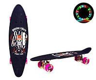 """Пенни борд """"Skull"""", игрушки товары для детей,скейт,борды,детские скейтборды и пениборды"""