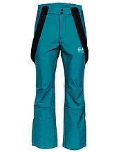Чоловічий гірськолижний костюм EA7 Emporio Armani 2020 M чорний зелений - чорна п'ятниця ski