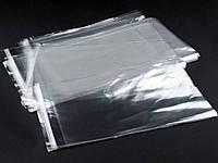 Пакет РР с клапаном, лентой 16х20+4см 200шт