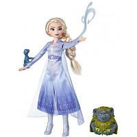 Кукла Hasbro Frozen Холодное сердце 2 Эльза с аксессуарами (E5496_E6660)