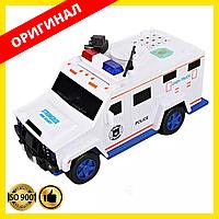 Детская игрушка-копилка с кодовым замком и отпечатком пальца