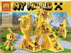 """Конструктор LELE My World """"Золотая серия"""" (126 дет.) 33156"""