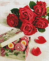 Алмазная мозаика ArtStory Подарок для любимой 40*50см в коробке