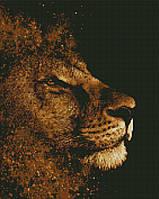 Алмазная мозаика ArtStory Золотой лев 40*50см в коробке