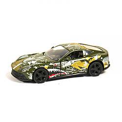 """Машинка """"Ferrari"""" из серии """"Автопром"""" зеленая"""