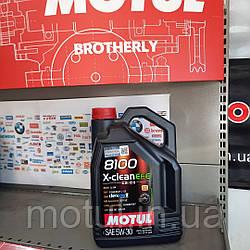 Моторное масло Motul 8100 x-clean efe  5W30 5л