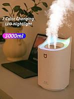 Зволожувач повітря 3000 мл + світлодіодний світильник H2O Hudimfier