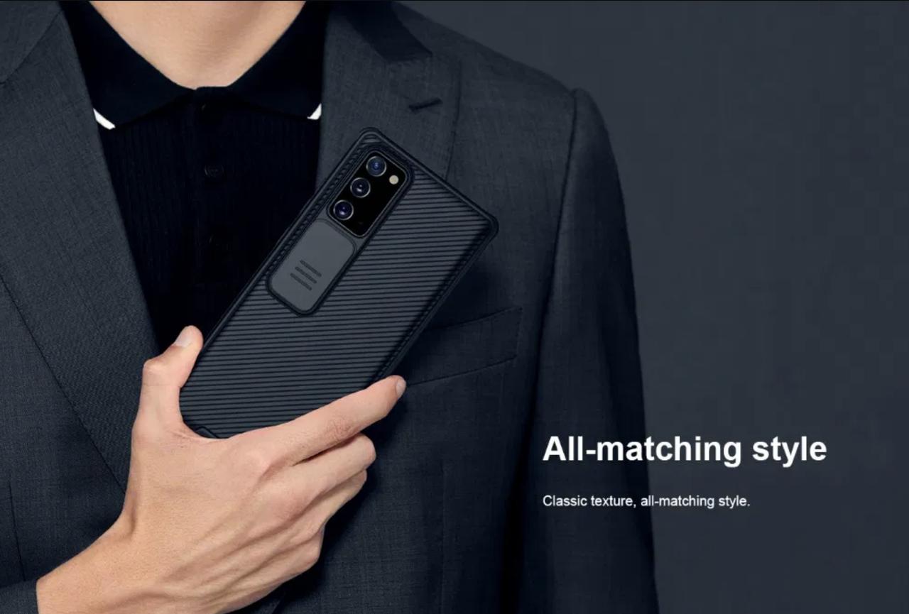 Защитный чехол NILLKIN для Samsung Note 20 со шторкой для камеры, оптовая цена