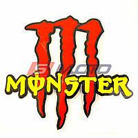 """Наклейка """"Monster"""" винил (12*11см)"""