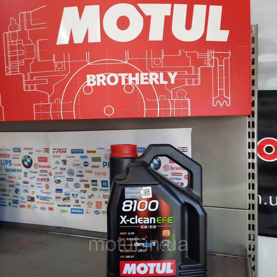 Моторное масло Motu X-clean efe 5w30 4л