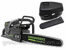 Цепная пила аккумуляторная Greenworks GC82CS без АКБ и ЗУ