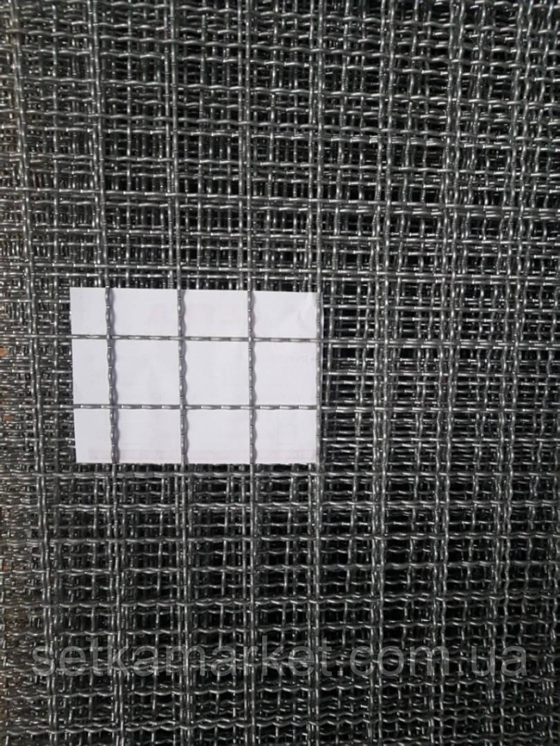 Сетка Канилированная, 1.5×2 м  Ячейка 50х50 мм, Проволока 3,8 мм. Оцинкованная