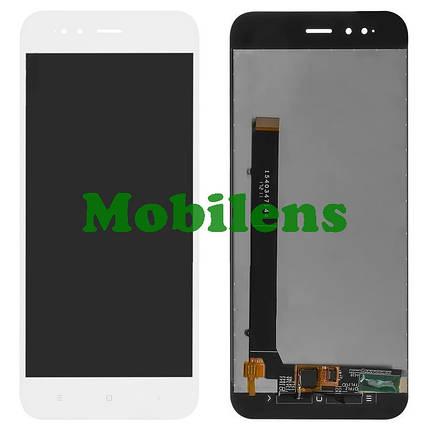Xiaomi Mi A1, MDG2, Mi5X Дисплей+тачскрин(модуль) белый Original *PRC, фото 2