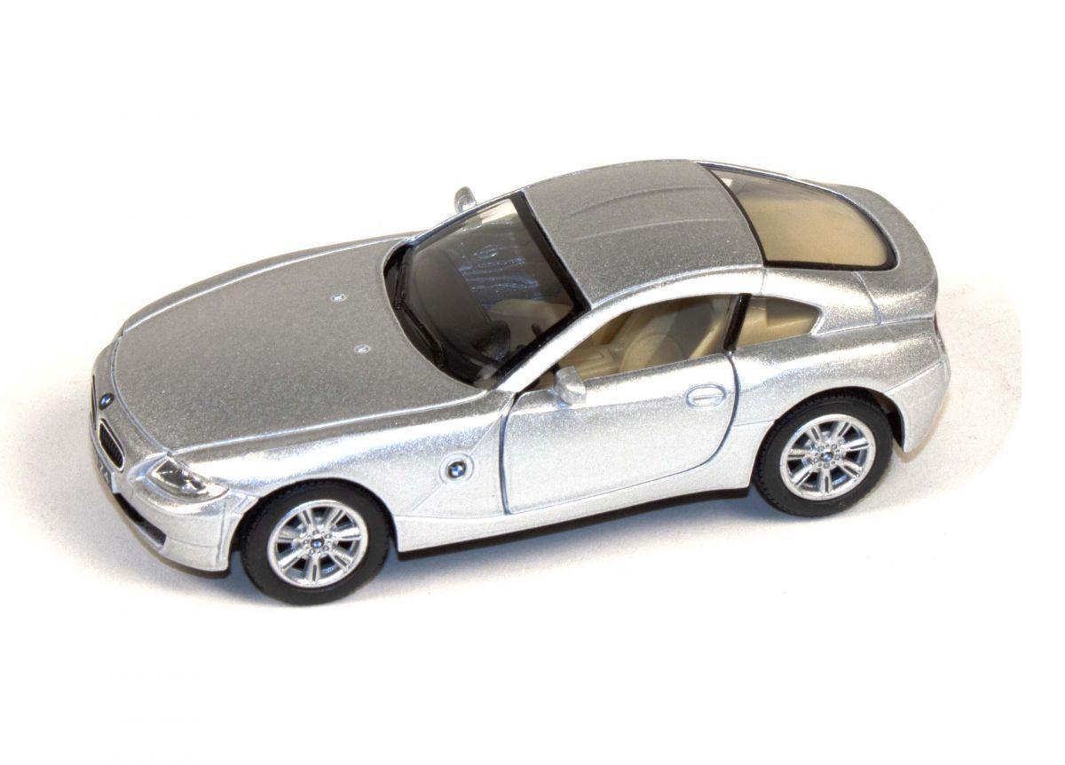 "Машинка KINSMART ""BMW Z4 Coupe"" серебристая"